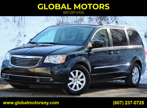 2014 Chrysler Town and Country for sale at GLOBAL MOTORS in Binghamton NY