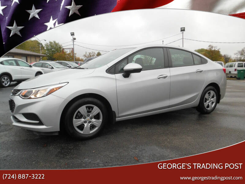 2018 Chevrolet Cruze for sale at GEORGE'S TRADING POST in Scottdale PA