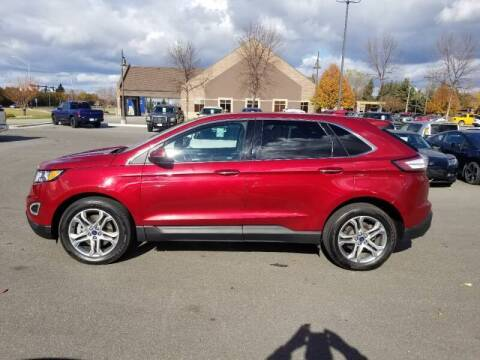 2016 Ford Edge for sale at ROSSTEN AUTO SALES in Grand Forks ND