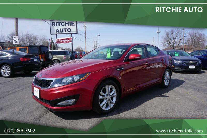 2012 Kia Optima for sale at Ritchie Auto in Appleton WI