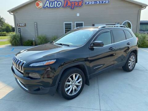 2014 Jeep Cherokee for sale at The Auto Depot in Mount Morris MI