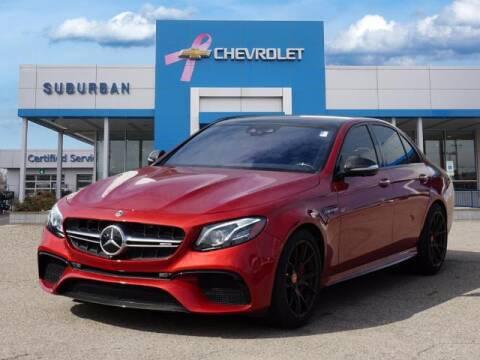 2018 Mercedes-Benz E-Class for sale at Suburban Chevrolet of Ann Arbor in Ann Arbor MI