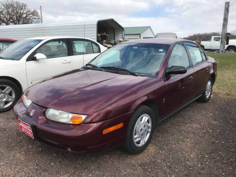 2002 Saturn S-Series for sale at Riverside Auto Sales in Saint Croix Falls WI