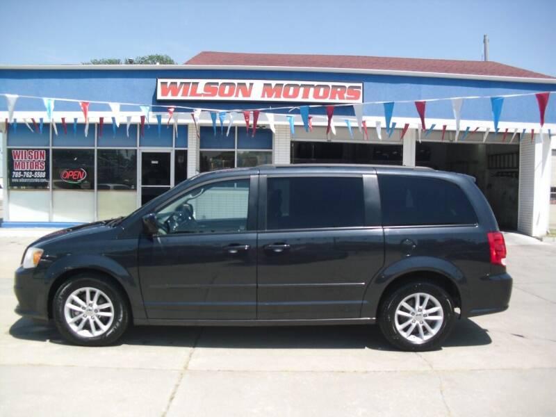2014 Dodge Grand Caravan for sale at Wilson Motors in Junction City KS