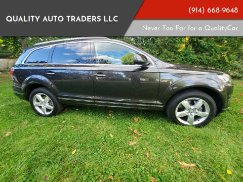 2014 Audi Q7 for sale at Quality Auto Traders LLC in Mount Vernon NY