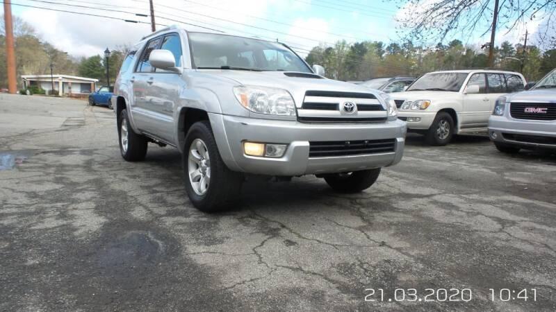 2005 Toyota 4Runner for sale at E-Motorworks in Roswell GA