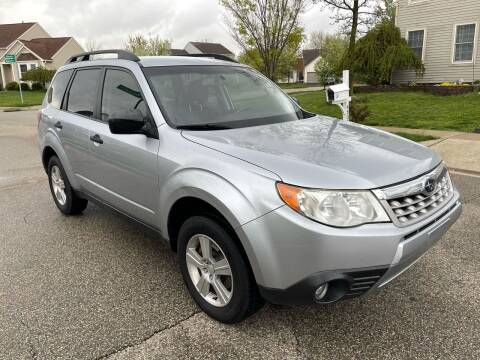 2012 Subaru Forester for sale at Via Roma Auto Sales in Columbus OH