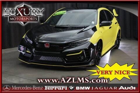 2020 Honda Civic for sale at Luxury Motorsports in Phoenix AZ