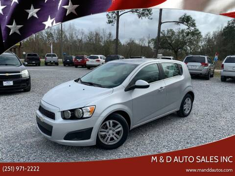2014 Chevrolet Sonic for sale at M & D Auto Sales Inc in Foley AL