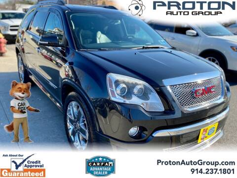 2011 GMC Acadia for sale at Proton Auto Group in Yonkers NY