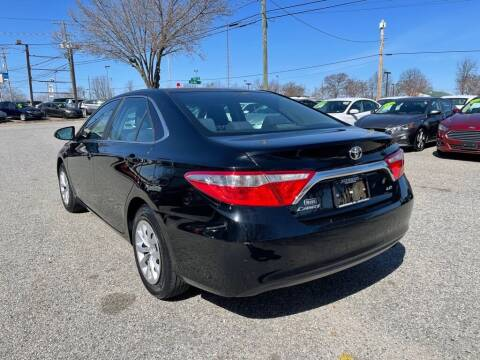 2016 Toyota Camry for sale at Autohaus of Greensboro in Greensboro NC