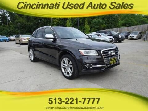 2015 Audi SQ5 for sale at Cincinnati Used Auto Sales in Cincinnati OH