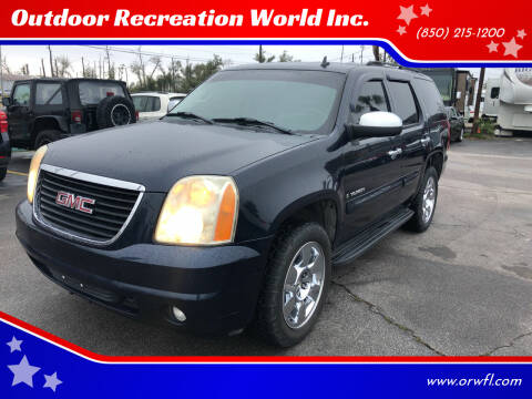 2007 GMC Yukon for sale at Outdoor Recreation World Inc. in Panama City FL