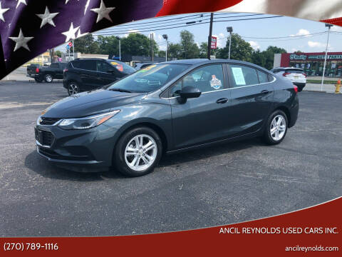 2017 Chevrolet Cruze for sale at Ancil Reynolds Used Cars Inc. in Campbellsville KY