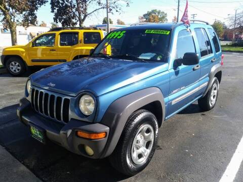 2003 Jeep Liberty for sale at Oak Hill Auto Sales of Wooster, LLC in Wooster OH