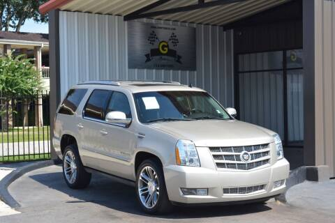 2013 Cadillac Escalade for sale at G MOTORS in Houston TX