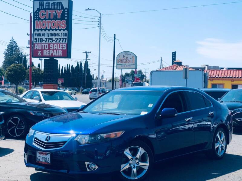 2013 Acura TSX for sale at City Motors in Hayward CA