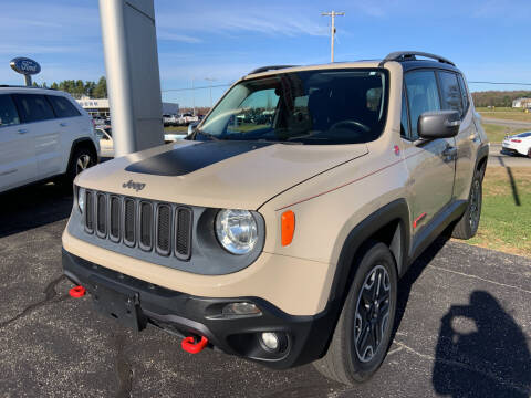 2015 Jeep Renegade for sale at Blake Hollenbeck Auto Sales in Greenville MI