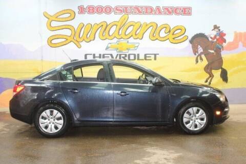2015 Chevrolet Cruze for sale at Sundance Chevrolet in Grand Ledge MI