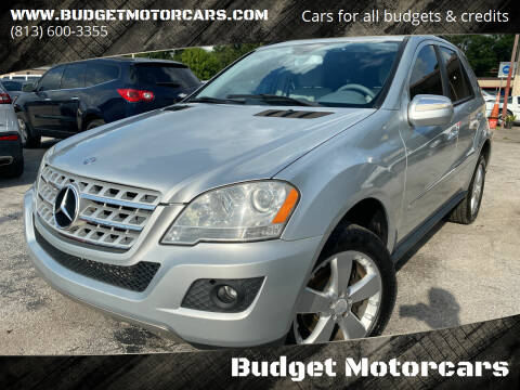 2009 Mercedes-Benz M-Class for sale at Budget Motorcars in Tampa FL