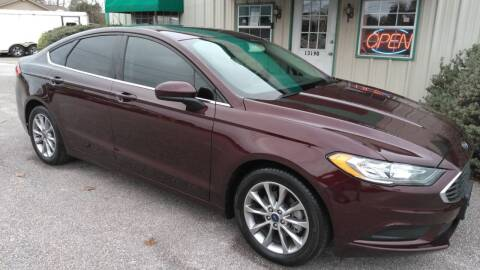 2017 Ford Fusion for sale at Haigler Motors Inc in Tyler TX