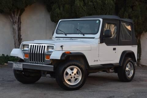 1992 Jeep Wrangler for sale at Milpas Motors in Santa Barbara CA