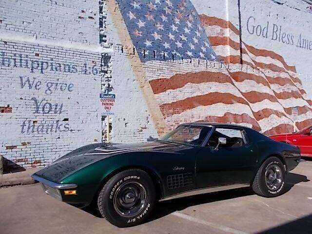 1971 Chevrolet LT-1 Corvette for sale at LARRY'S CLASSICS in Skiatook OK