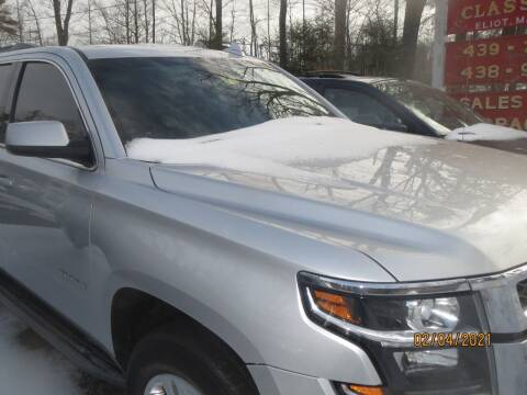 2015 Chevrolet Tahoe for sale at D & F Classics in Eliot ME