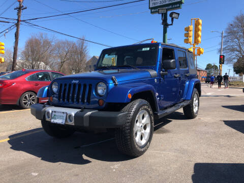 2009 Jeep Wrangler Unlimited for sale at MURPHY BROTHERS INC in North Weymouth MA