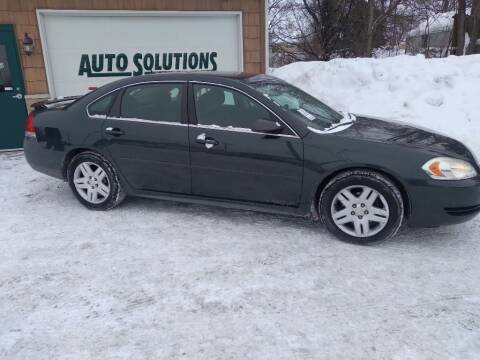 2013 Chevrolet Impala for sale at Auto Solutions of Rockford in Rockford IL