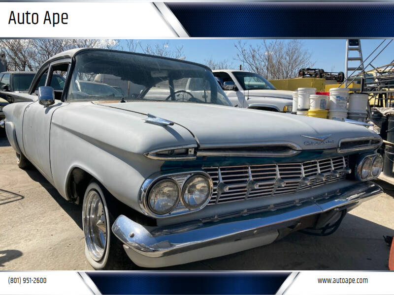 1959 Chevrolet Biscayne for sale at Auto Ape in Salt Lake City UT