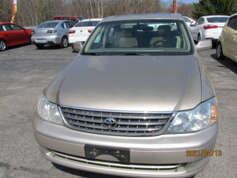 2004 Toyota Avalon for sale at Mid - Way Auto Sales INC in Montgomery NY