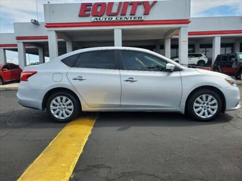 2016 Nissan Sentra for sale at EQUITY AUTO CENTER in Phoenix AZ