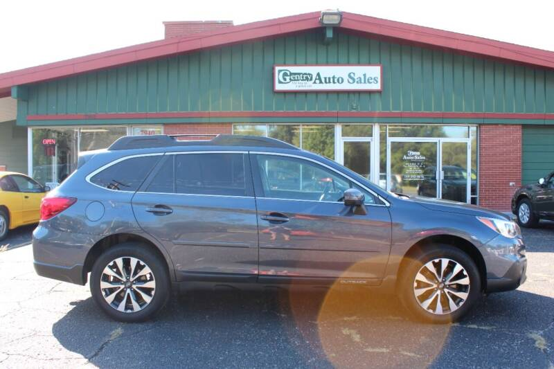 2017 Subaru Outback for sale at Gentry Auto Sales in Portage MI
