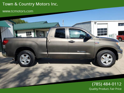 2007 Toyota Tundra for sale at Town & Country Motors Inc. in Meriden KS