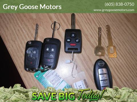 Keys cut, Keys Programmed for sale at Grey Goose Motors in Pierre SD