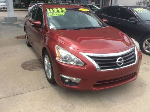 2014 Nissan Altima for sale at Harrison Family Motors in Topeka KS
