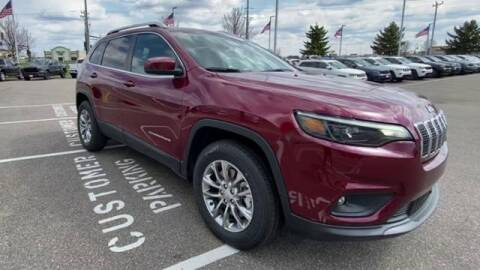2021 Jeep Cherokee for sale at Waconia Auto Detail in Waconia MN