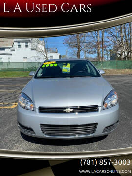 2011 Chevrolet Impala for sale at L A Used Cars in Abington MA