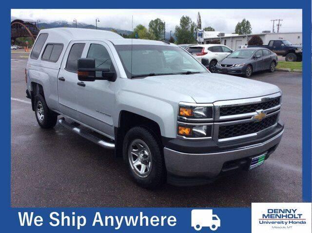 2015 Chevrolet Silverado 1500 for sale at Carmart 360 Missoula in Missoula MT