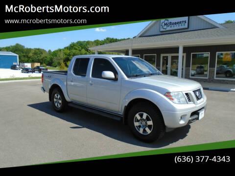 2012 Nissan Frontier for sale at McRobertsMotors.com in Warrenton MO