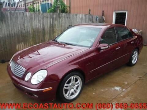 2004 Mercedes-Benz E-Class for sale at East Coast Auto Source Inc. in Bedford VA