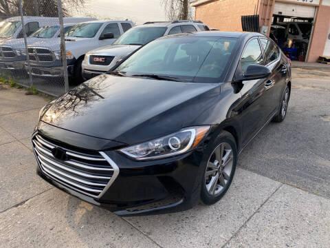 2018 Hyundai Elantra for sale at Seaview Motors and Repair LLC in Bridgeport CT