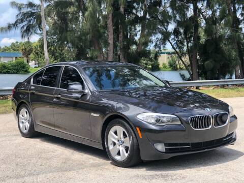 2012 BMW 5 Series for sale at CAR UZD in Miami FL