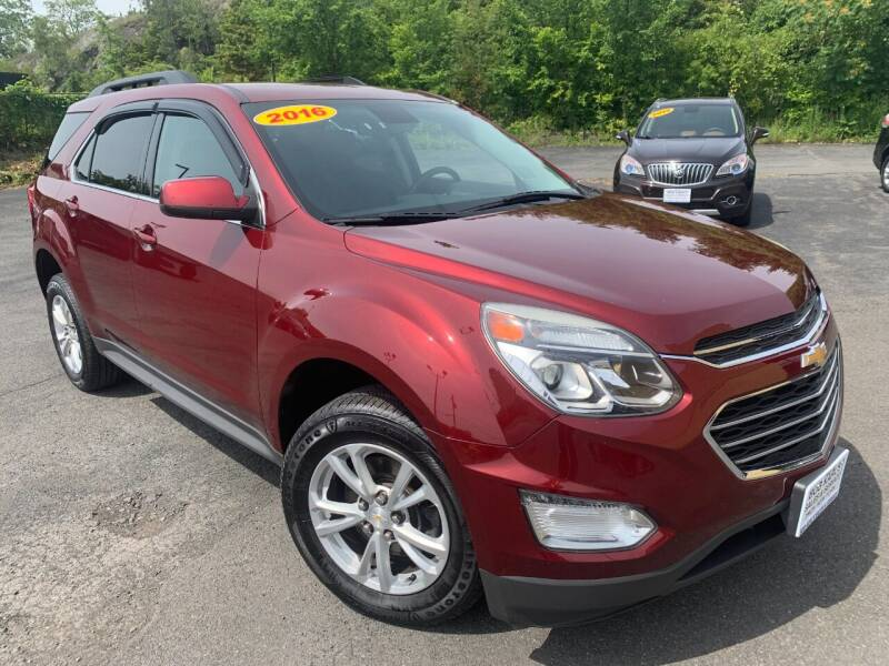 2016 Chevrolet Equinox for sale at Bob Karl's Sales & Service in Troy NY