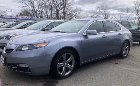 2012 Acura TL for sale at Top Line Import in Haverhill MA