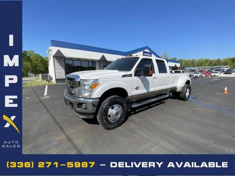 2012 Ford F-350 Super Duty for sale at Impex Auto Sales in Greensboro NC