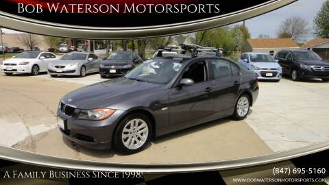 2007 BMW 3 Series for sale at Bob Waterson Motorsports in South Elgin IL