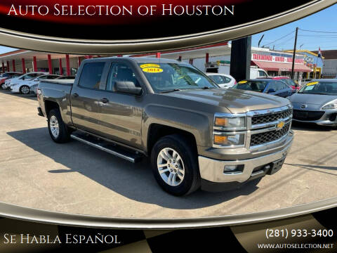 2014 Chevrolet Silverado 1500 for sale at Auto Selection of Houston in Houston TX