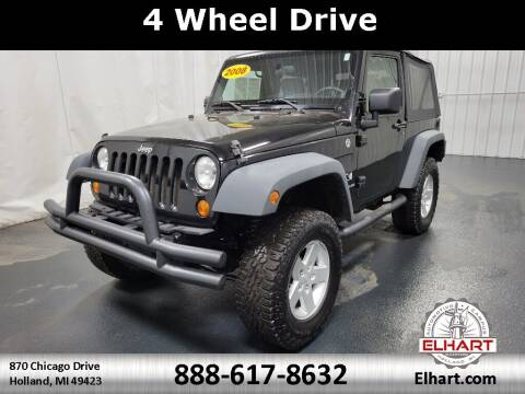 2008 Jeep Wrangler for sale at Elhart Automotive Campus in Holland MI